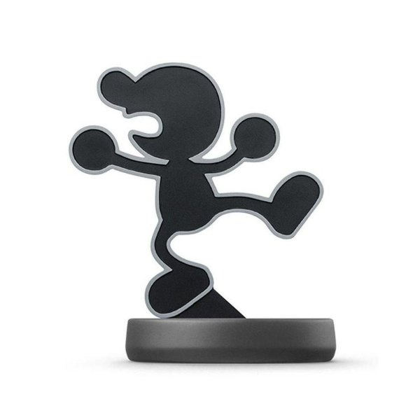 Nintendo Amiibo: Mr. Game & Watch - Super Smash Bros - Wii U, New Nintendo 3DS e Switch