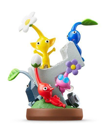 Nintendo Amiibo: Pikmin e Olimar, Wii U e New Nintendo 3DS