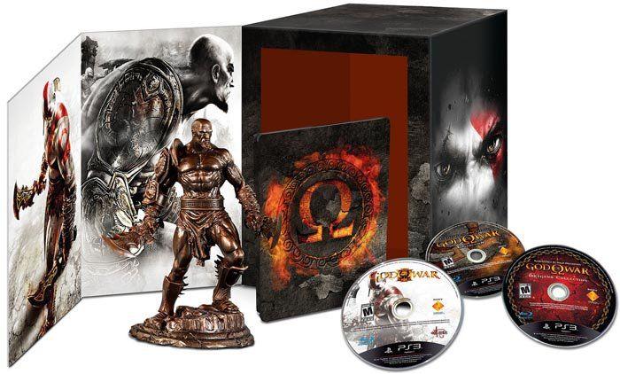God of War Omega Collection (Edição Limitada de Colecionador) - PS3 - Seminovo