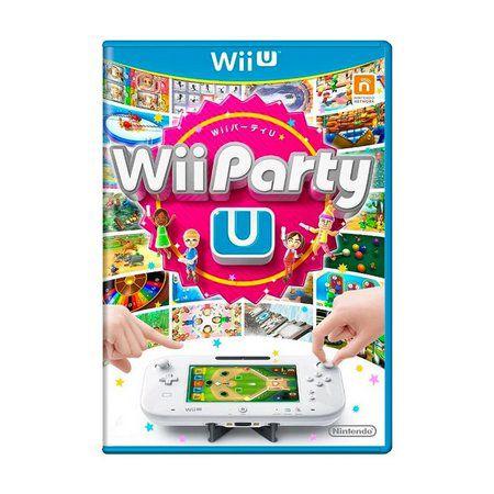 Jogo Wii Party - Wii U - Seminovo