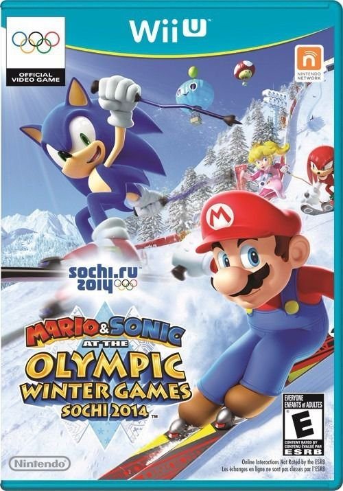 Jogo Mario & Sonic Olympic Winter Games 2014 - Wii U - Seminovo