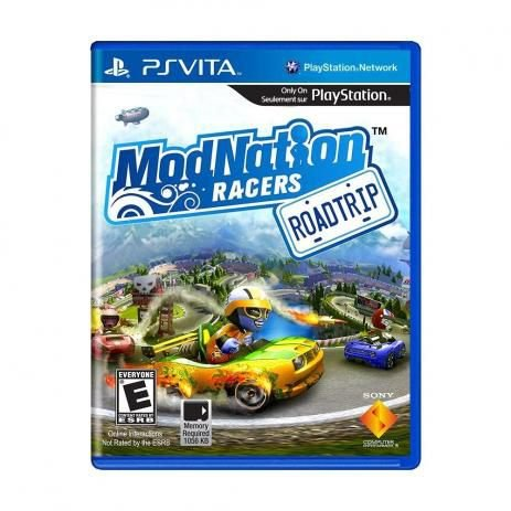 Jogo Mod Nation Racers- PS VITA - Seminovo