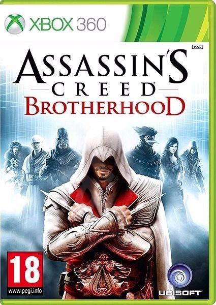 Jogo Assassins Creed Brotherhood - Xbox 360 - Seminovo