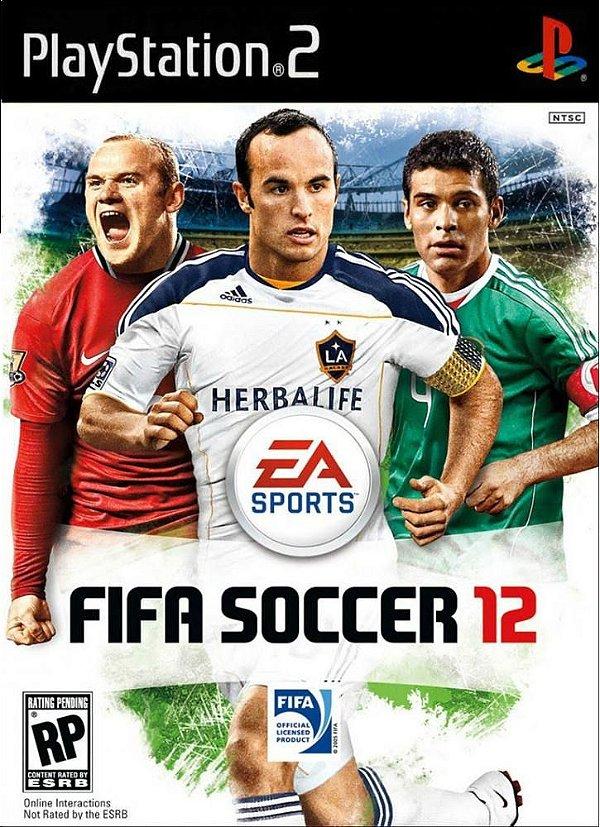 Jogo Fifa Soccer 12 - PS2 - Seminovo