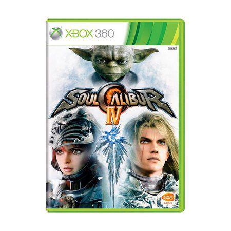 Usado: Jogo SoulCalibur IV Xbox 360 -