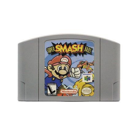Jogo Super Smash Bros - Nintendo 64 - Seminovo