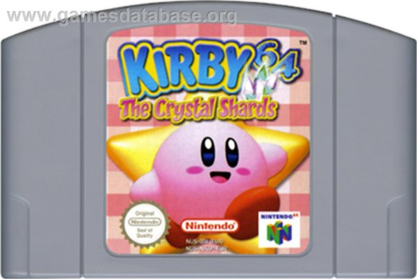Jogo Kirby 64 The Crystal Shards - Nintendo 64 - Seminovo