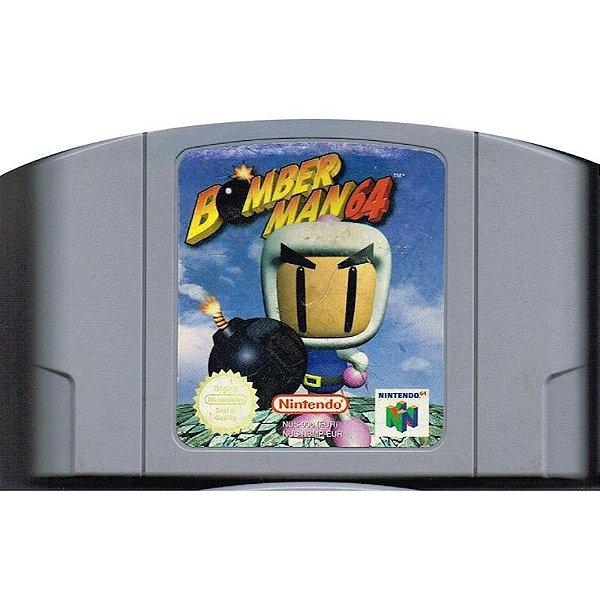 Jogo Bomberman 64 - Nintendo 64 - Seminovo