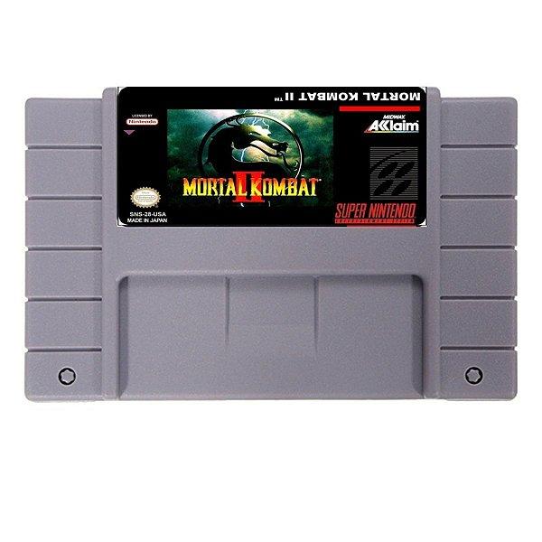 Jogo Mortal Kombat II  - SNES - Seminovo