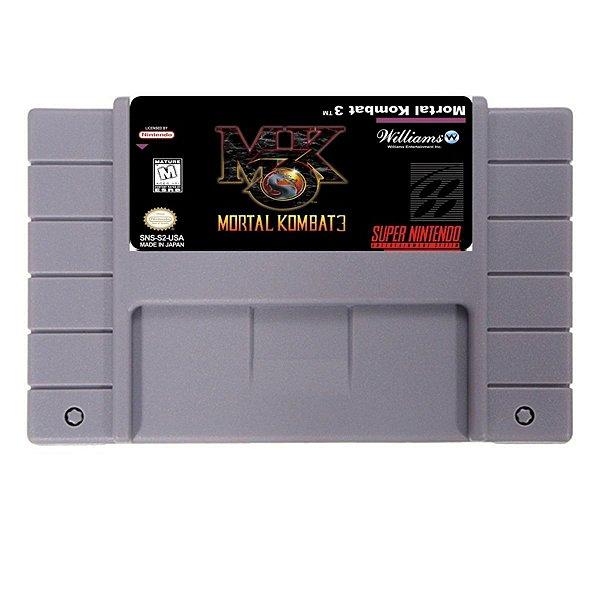 Jogo Mortal Kombat 3 - SNES - Seminovo