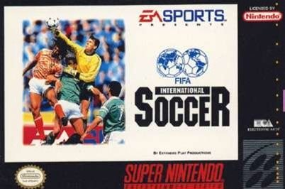 Jogo Fifa International Soccer - SNES - Seminovo