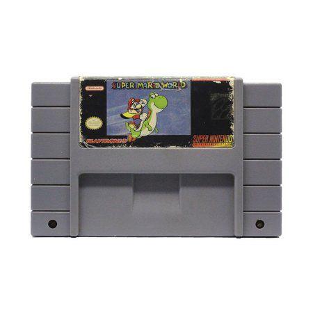 Jogo Super Mario World - SNES - Seminovo