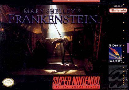 Jogo Mary Shelley´s Frankenstein - SNES - Seminovo