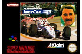 Jogo Indycar featuring Nigel Mansell- SNES - Seminovo
