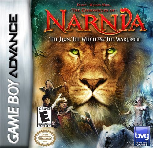 Jogo The Chronicles of Narnia The Lion, The Witch, and The Wardrobe - Game Boy Advanced - Seminovo