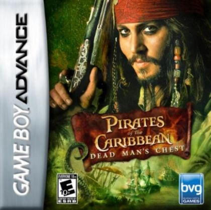 Jogo Piratas Do Caribe: Dead Man´s Chest - Game Boy Advanced - Seminovo