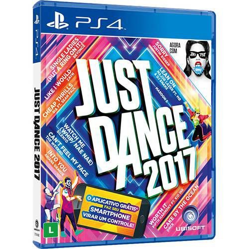 Jogo Just Dance 2017 - PS4 - Seminovo