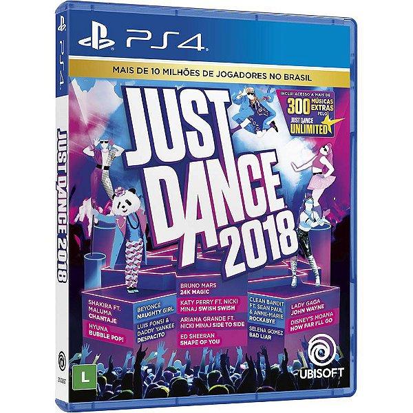 Jogo Just Dance 2018 - PS4 - Seminovo
