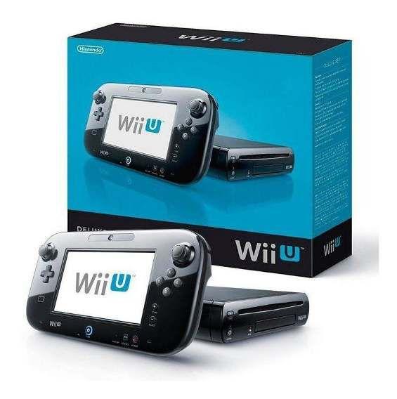 Console Nintendo Wii U Deluxe Set 32GB Preto - Seminovo