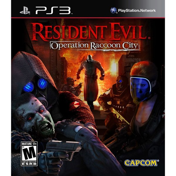 Jogo Resident Evil Operation Racoon City - PS3 - Seminovo