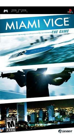 Jogo Miami Vice - PSP - Seminovo