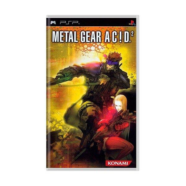 Jogo Metal Gear Acid 2 - PSP - Seminovo