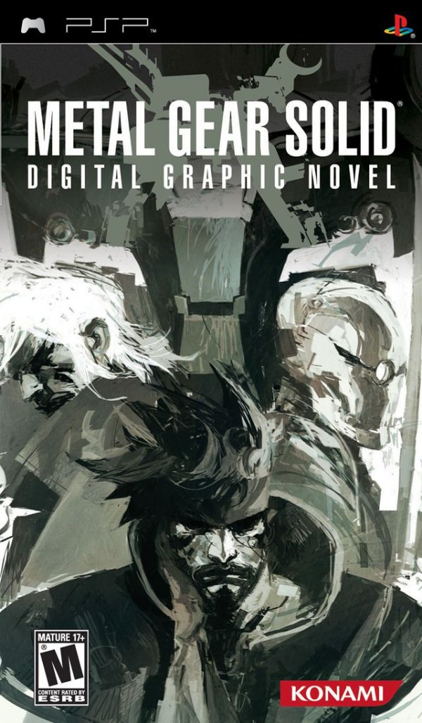 Jogo Metal Gear Solid Digital Graphic Novel - PSP - Seminovo