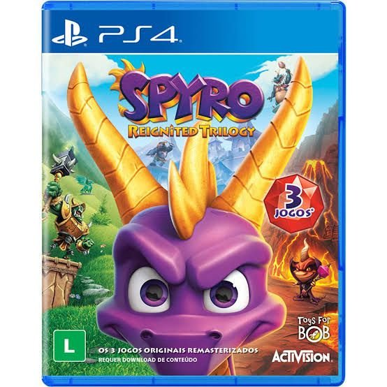 Jogo Spyro Reignited Triology - PS4 - Seminovo