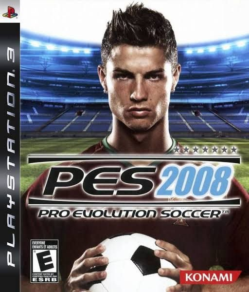 Jogo Pro Evolution Soccer 2008 - PS3 - Seminovo