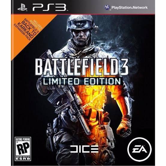 Jogo Battlefield 3 Limited Edition - PS3 - Seminovo