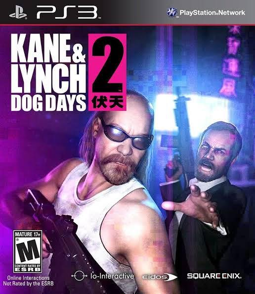 Jogo Kane & Lynch 2 Dog Days - PS3 - Seminovo