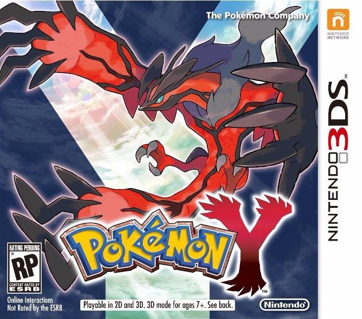 Jogo Pokemon Y - Nintendo 3DS - Seminovo
