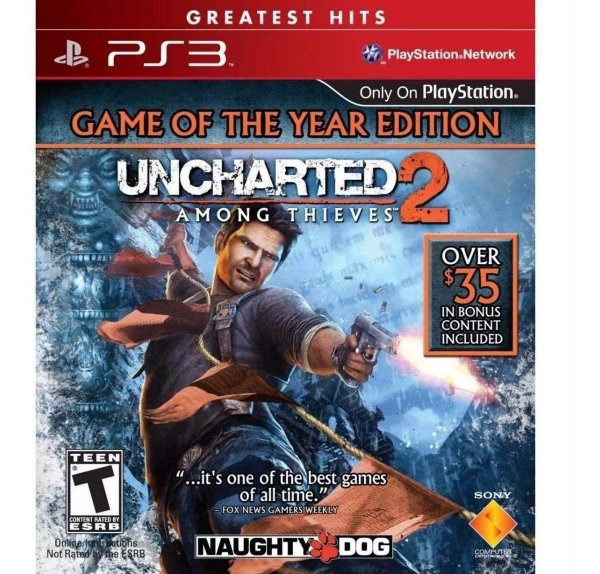 Usado: Jogo Uncharted 2: Among Thieves - Game of The Year Edition - PS3