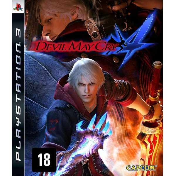 Usado: Jogo Devil May Cry 4- PS3