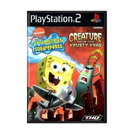 Usado: Jogo Sponge Bob - Creature From Krusty Krab - PS2