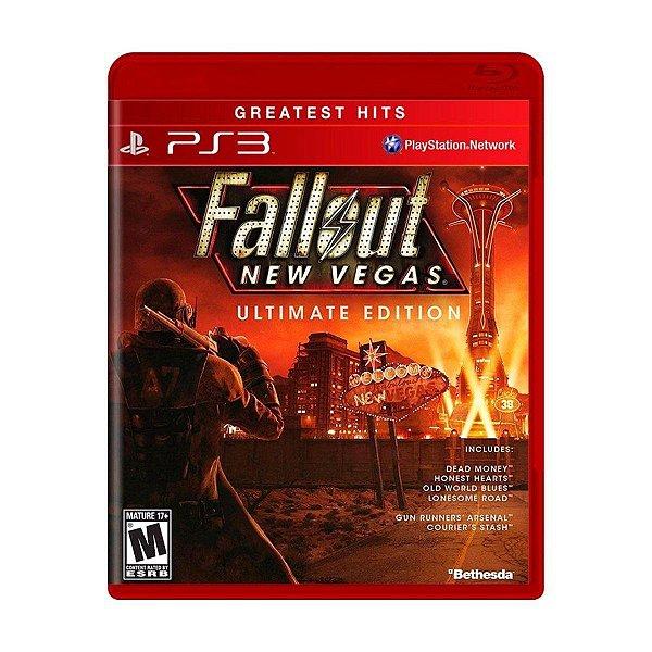 Usado: Jogo Fallout New Vegas Ultimate Edition - PS3