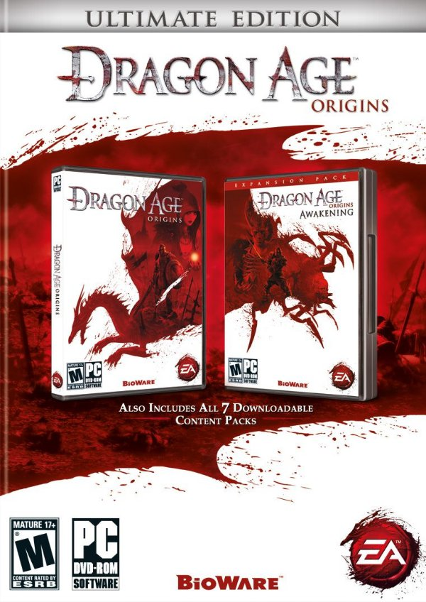 Usado: Jogo Dragon Age: Origins Ultimate Edition PS3