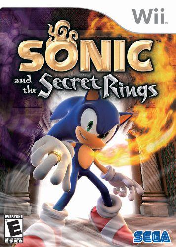 Usado: Jogo Sonic and The Secret Rings - Wii