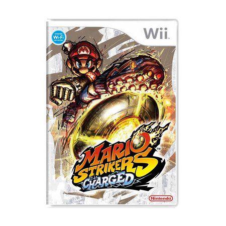 Usado: Jogo Mario Strikers Charged - Wii