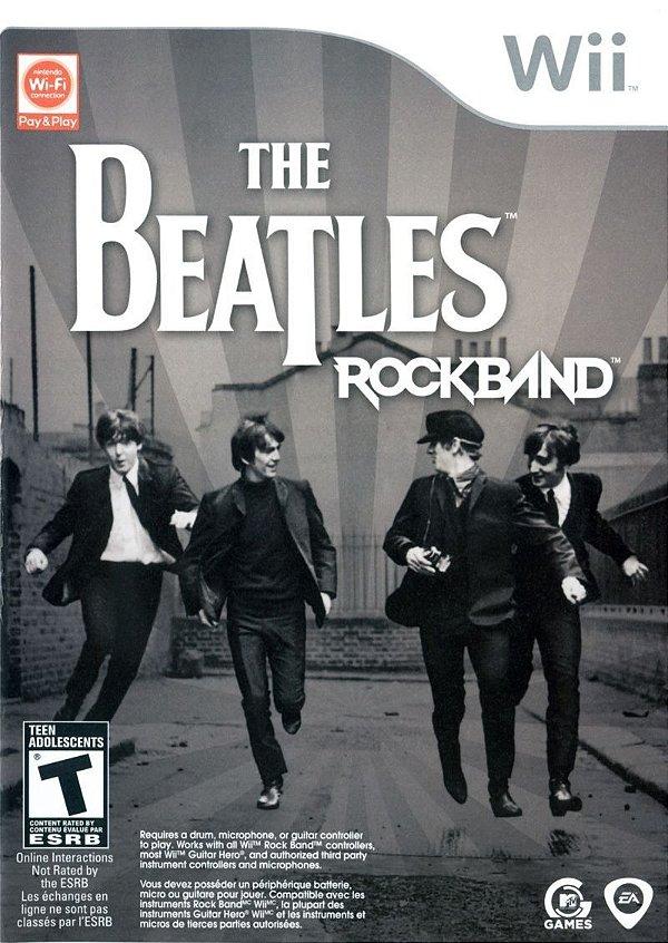 Usado: Jogo The Beatles Rock Band - Wii