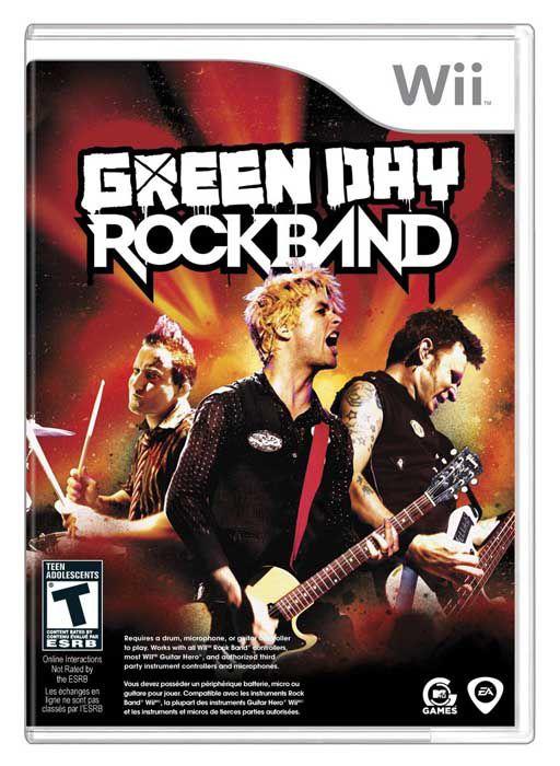 Usado: Jogo Green Day Rock Band - Wii