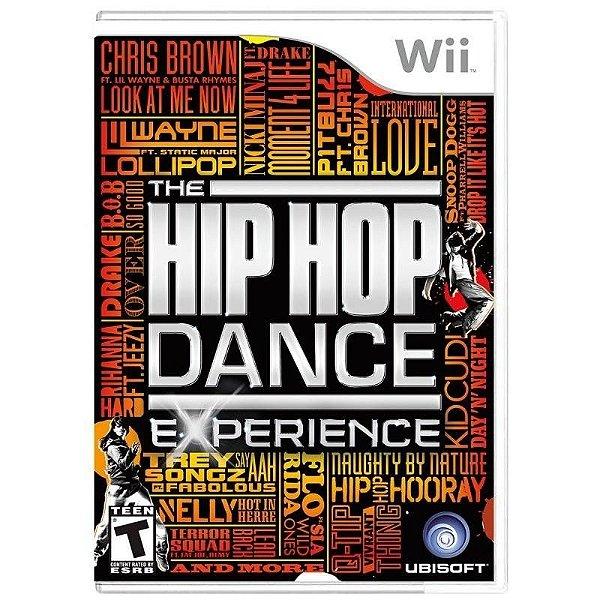 Usado: Jogo The Hip Hop Dance Experience - Wii