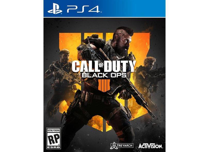 Usado: Jogo Call of Duty: Black Ops IIII - PS4