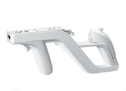 Usado: Pistola Wii Zapper - Wii