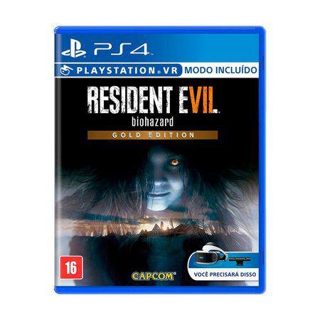 Usado: Jogo Resident Evil 7 - Gold Edition - PS4