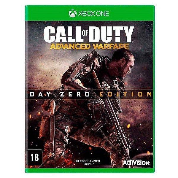 Usado: Jogo Call Of Duty Advanced Warfare - Edição Day Zero - Xbox One