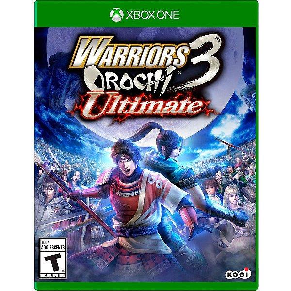 Usado: Jogo Warriors Orochi Ultimate 3 - Xbox One