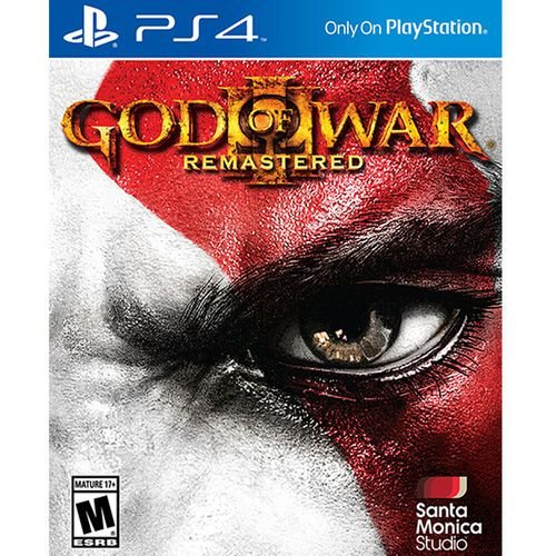 Usado: Jogo God of War 3 Remasterizado (Embalagem cartão) - PS4