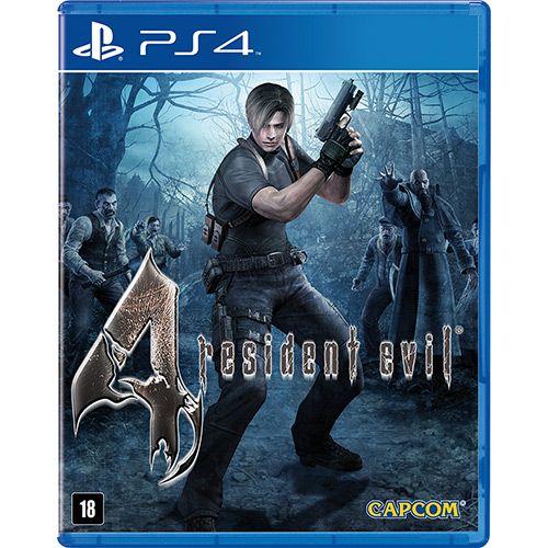 Usado: Jogo Resident Evil 4 - PS4