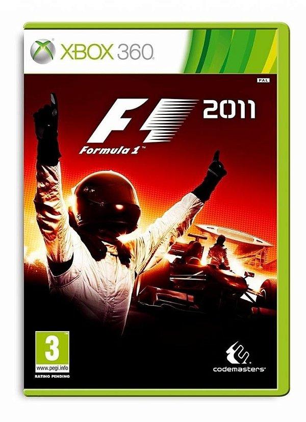 Usado: Jogo F1 2011 - Xbox 360